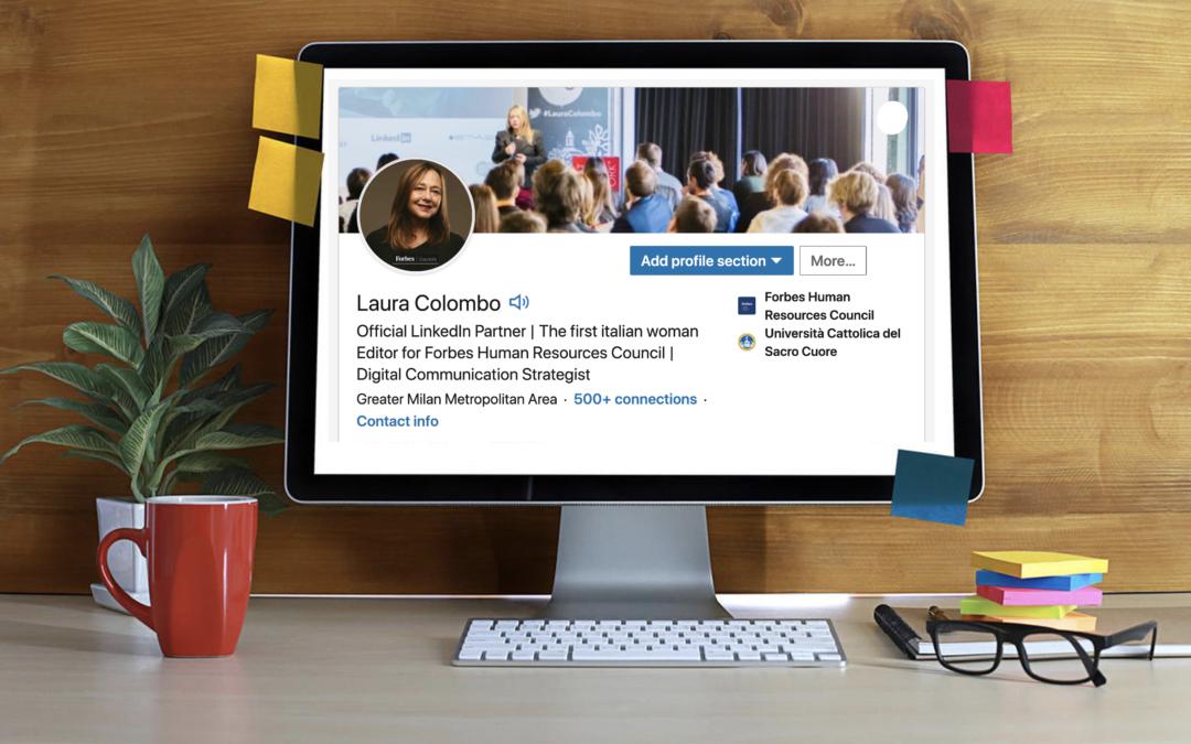 #LinkedIn #PersonalBranding | Ottimizza il tuo profilo in 5 mosse